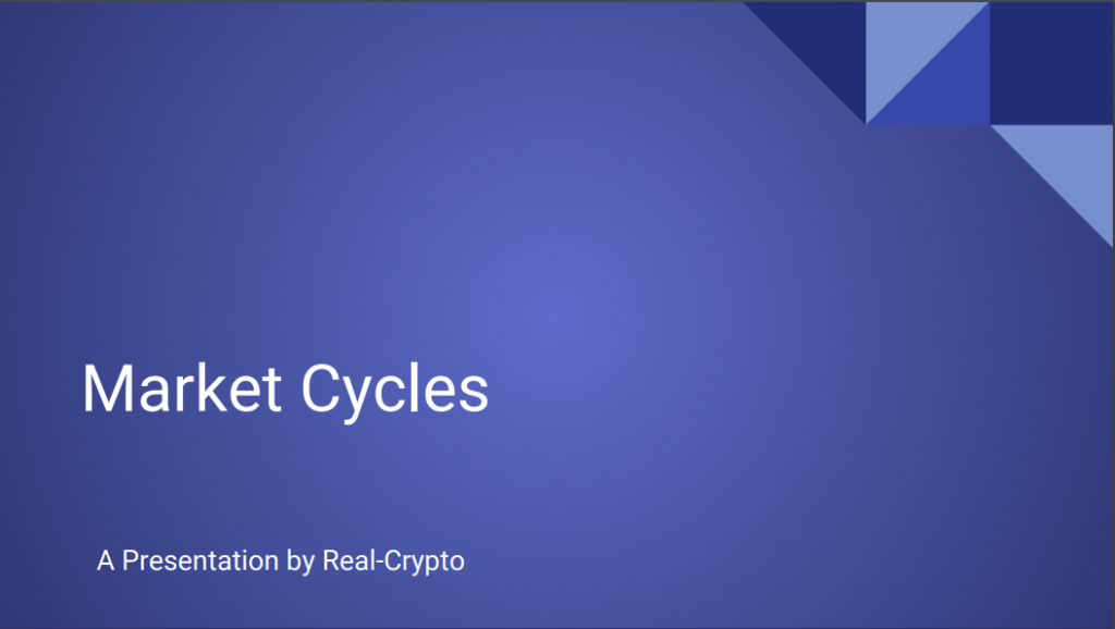 Market Cycles Intro